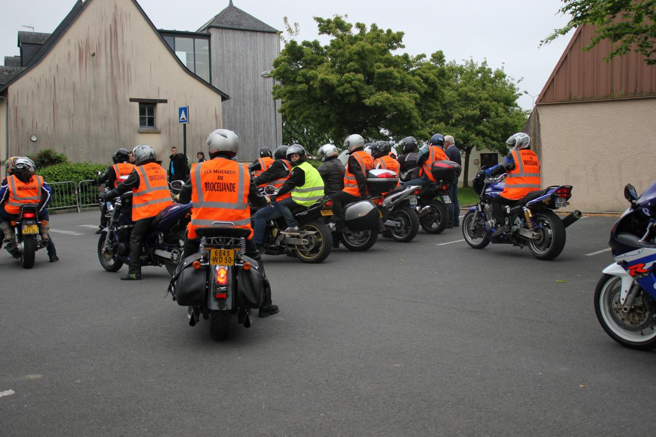 Les motards de Brocéliande (56)
