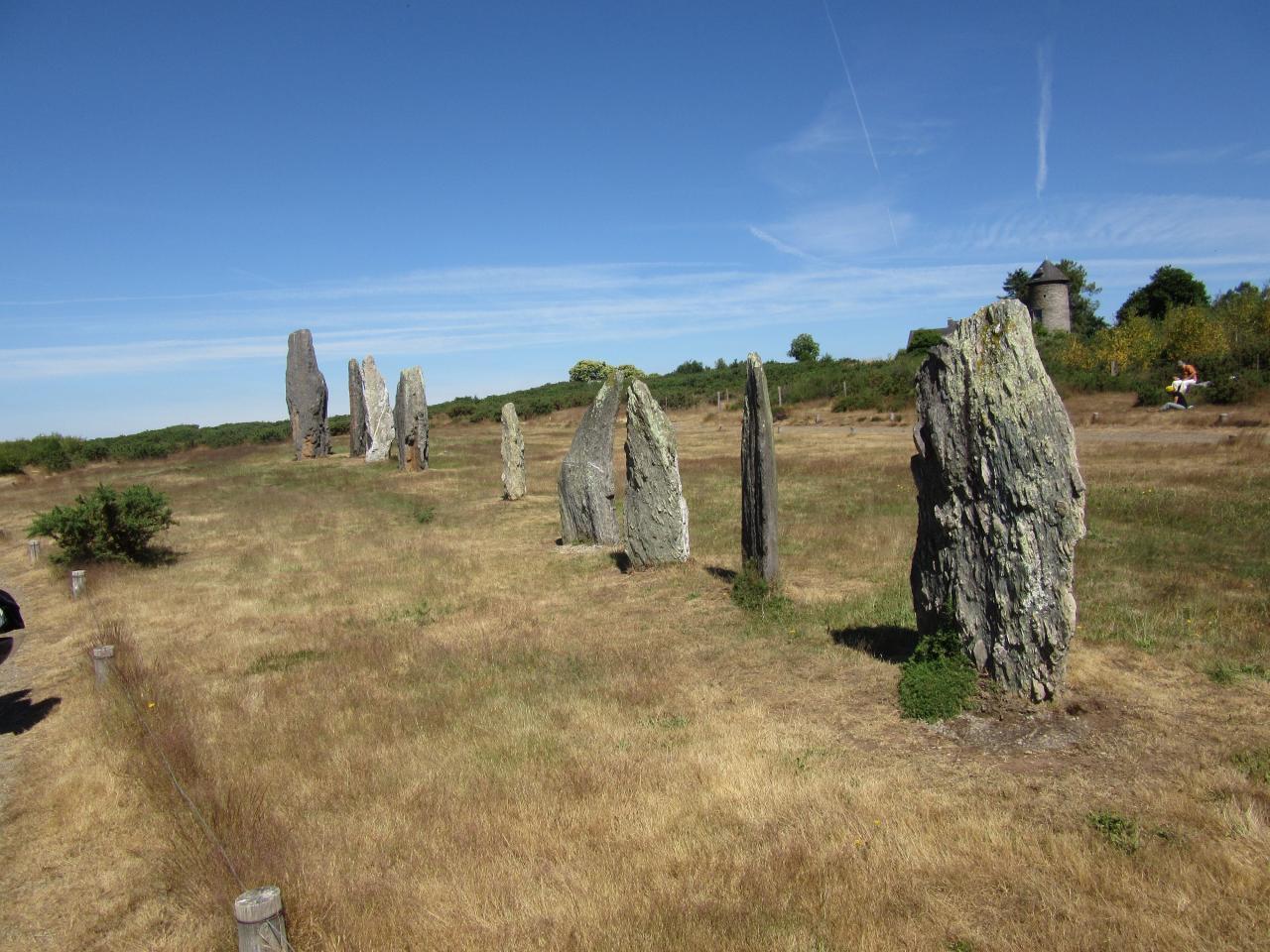 site mégalitheques de saint just 85