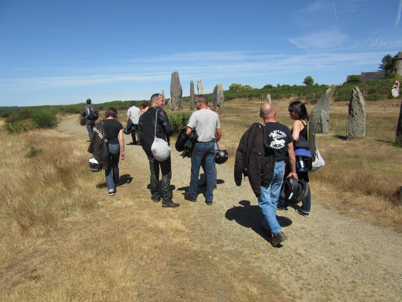 site mégalitheques de saint just  91