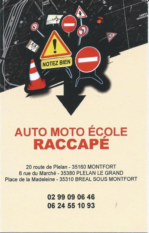 Auto moto ecole raccape