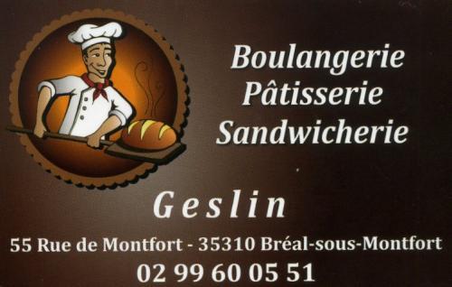 Boulangerie patisserie sandwicherie geslin